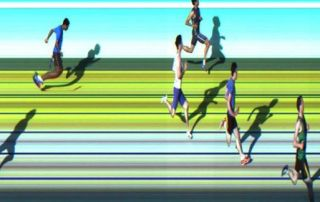 AITT 2011 October - 150m Heat 1/2 Photo Finish