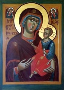Иверская икона Богоматери