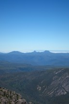 View of Cradle Mountain from Mt Roland