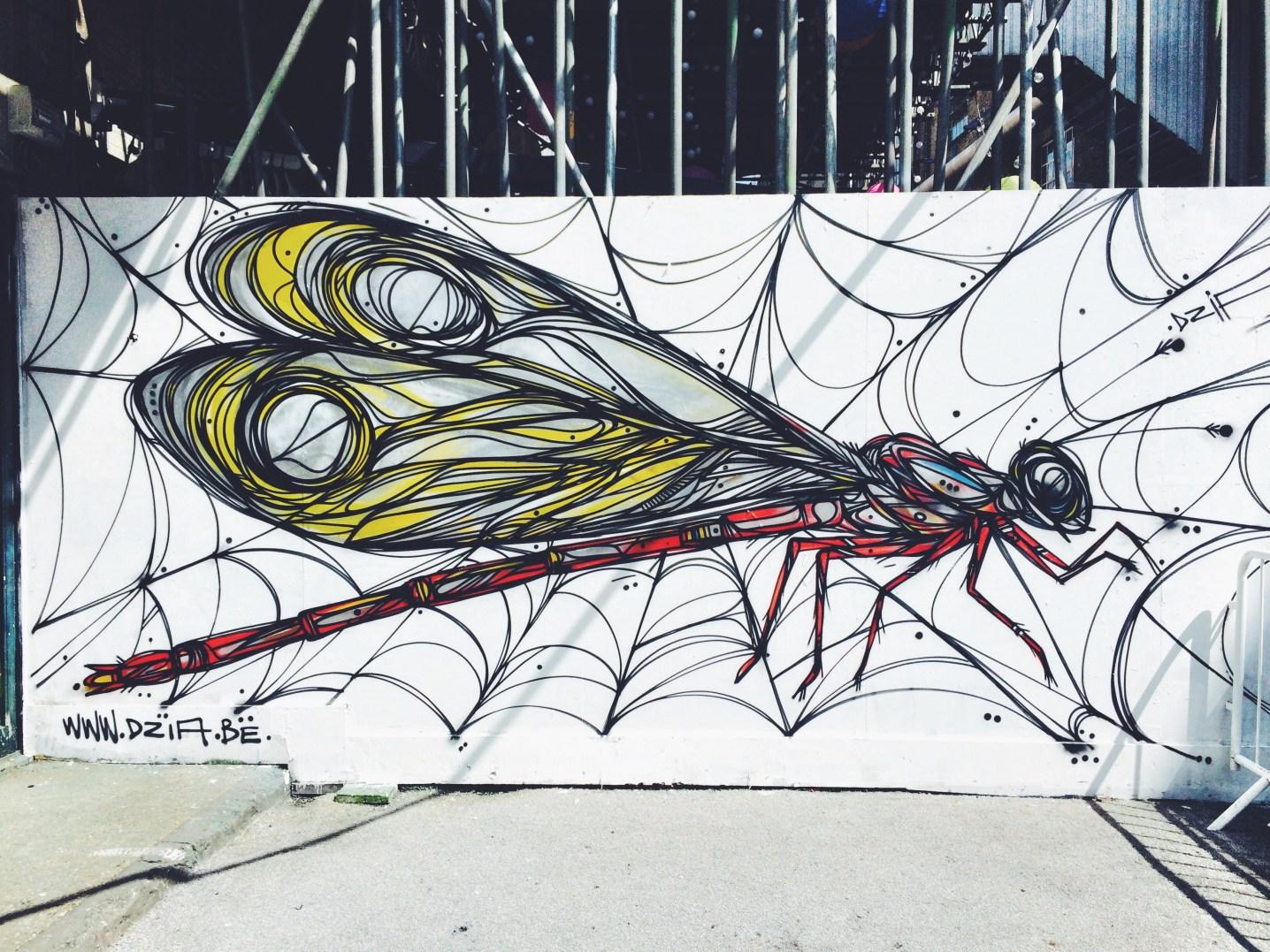 shoreditch street art dzia