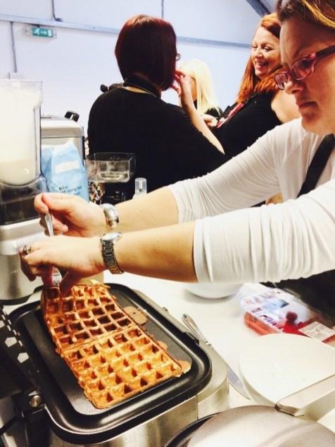 waffle action