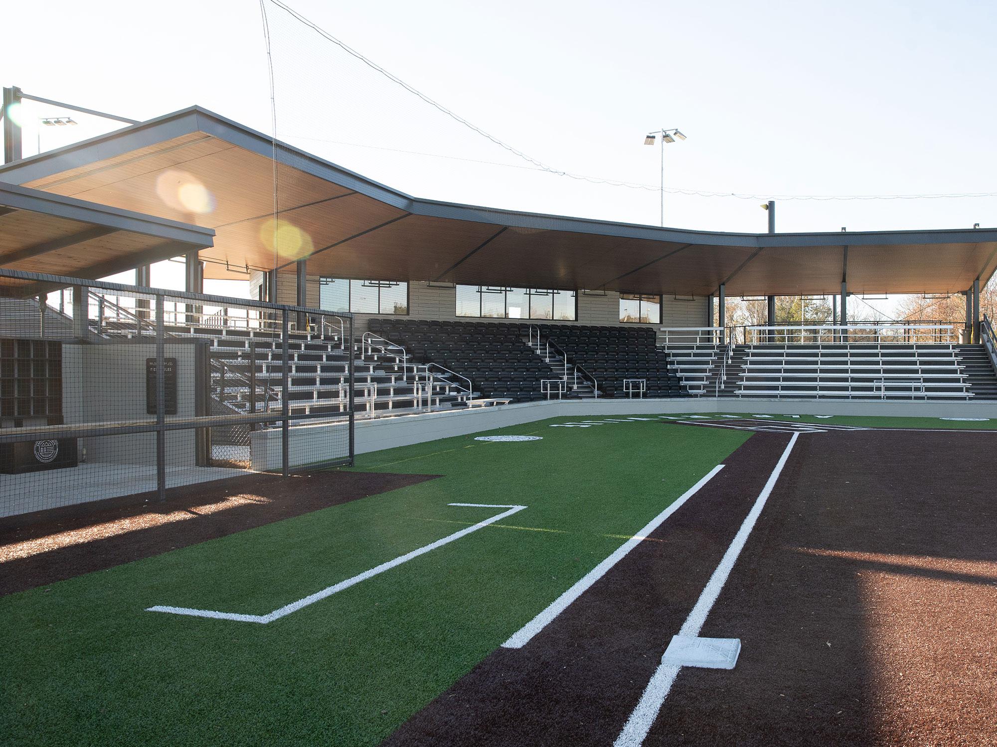 Indoor aquatics & fitness center with indoor track,. City Of Albertville Sand Mountain Park Amphitheater Hpm