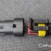 Aansluiting dmv SuperSeal connector
