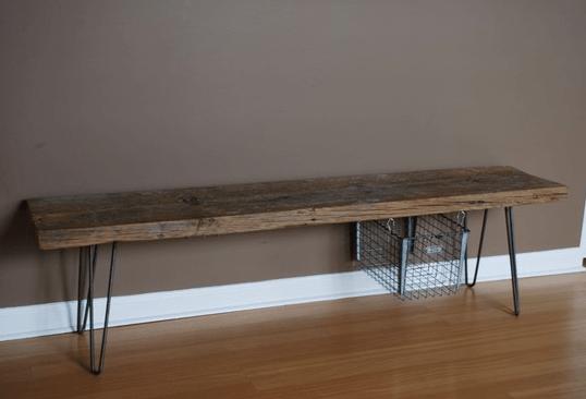 aug 3rd rustic wood bench h postscripts