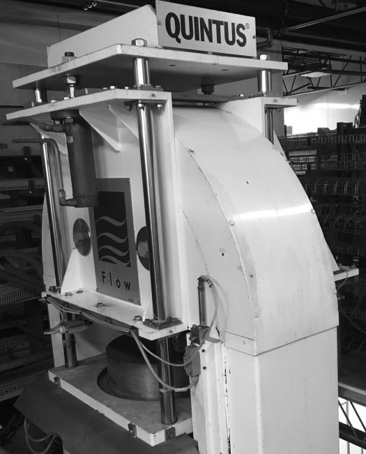 215L Avure/JBT Vertical HPP Machine