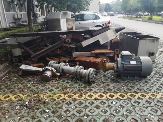 BaoTau Kefa (BTKF) parts from failed machine