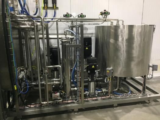 Water System for the HPP Intensifiers and Vessel for the the Avure/JBT AV40-70