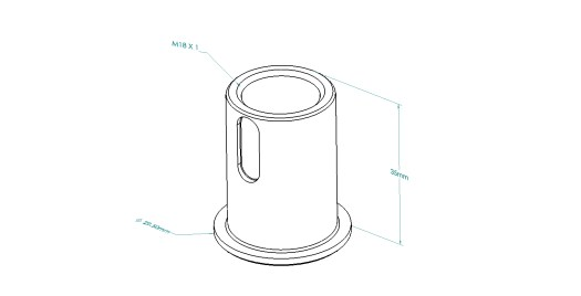 Sensor Measurement Spring Support H02-100-71-0364C for Hiperbaric Machine