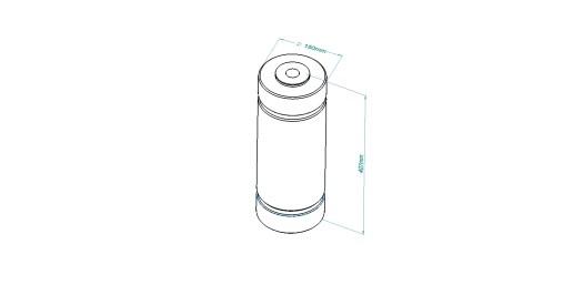 87k High Pressure Jacket H02-250-60-1040C for Hiperbaric Machines