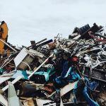 人は役割を終えると灰と化す。しかし除雪機とは役割を終えても鉄と成す。#除雪機 #ホンダ #ヤマハ #リサイクル #札幌 #北海道 #