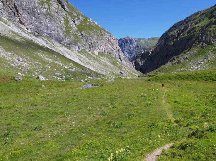 Alp Sursass Richtung Val D'Uina