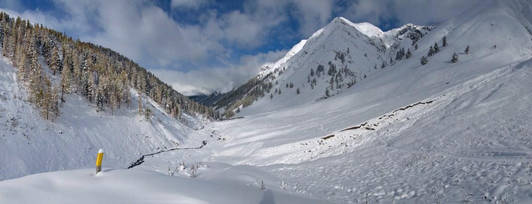 Alp Trupchun - die Murmeltiere sind bereits im Winterschlaf