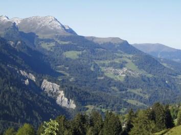 Rungser Rüfi, Alpstein, Gürgaletsch, Parpaner Joch und Tschiertschen