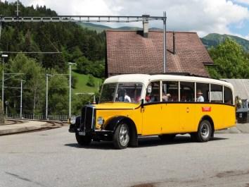 Sommerverbindung von Molinis nach Tschiertschen / Alp Farur