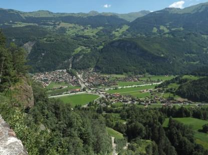 Am Fusse der Reichenbachfälle: Meiringen-Hasliberg