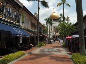 Little India: Sultansmoschee