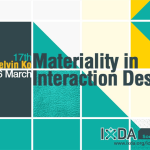 IxDA Taiwan 17th Materiality in Interaction Design
