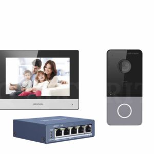 Intercom 6113 + 6320 + gigabit switch