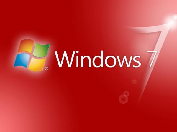 Красные Windows 7 обои для рабочего стола, картинки, фото ...