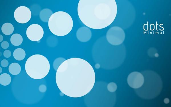 Круги, белые, синий фон обои для рабочего стола, картинки ...