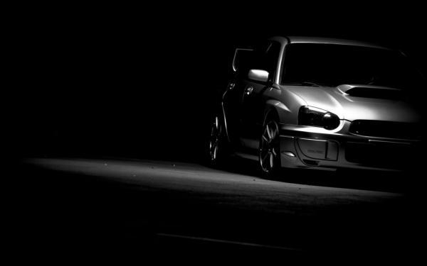 Subaru, impreza, wrx, sti, субару, импреза, тачки, чёрный ...