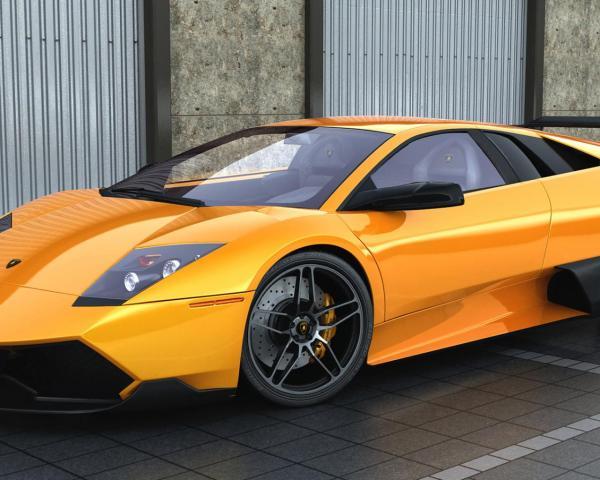 Lamborghini, машина, оранжевая, автомобили, машины, авто ...