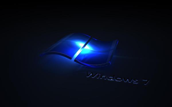 Windows 7 черные обои для рабочего стола, картинки, фото ...