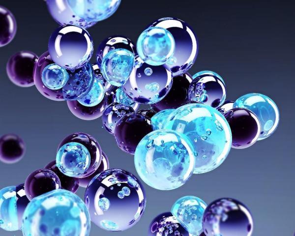 Цветные пузыри обои для рабочего стола, картинки, фото ...