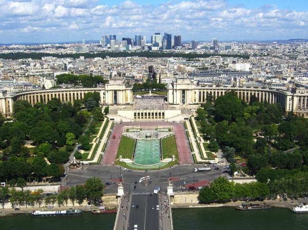 Париж, парк обои для рабочего стола, картинки, фото, 1024x768.