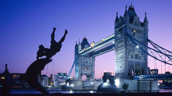 Тауэрский мост Лондон обои для рабочего стола картинки