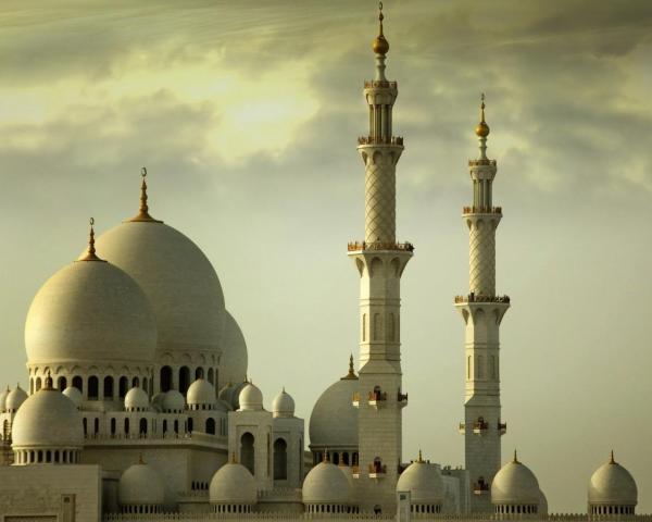 Абу Даби (ОАЭ), красивые исламские храмы обои для рабочего ...