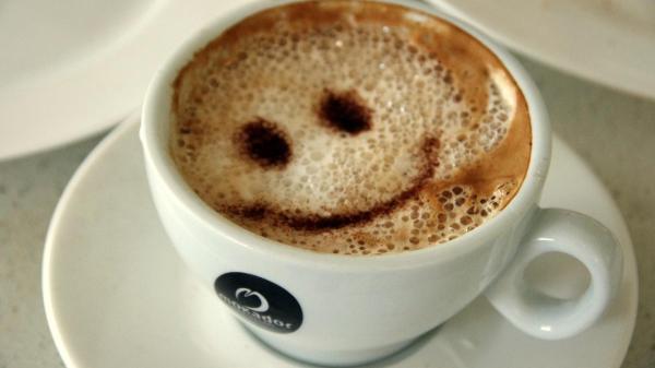 Кофе с улыбкой обои для рабочего стола, картинки, фото ...