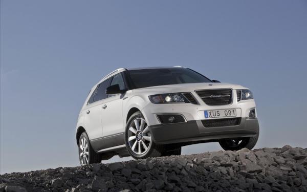 Saab, 9-4x, авто, машины, джипы, сааб обои для рабочего ...