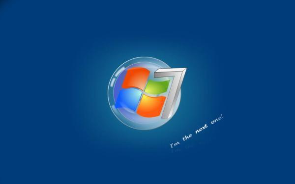 Windows 7 голубого цвета обои для рабочего стола, картинки ...