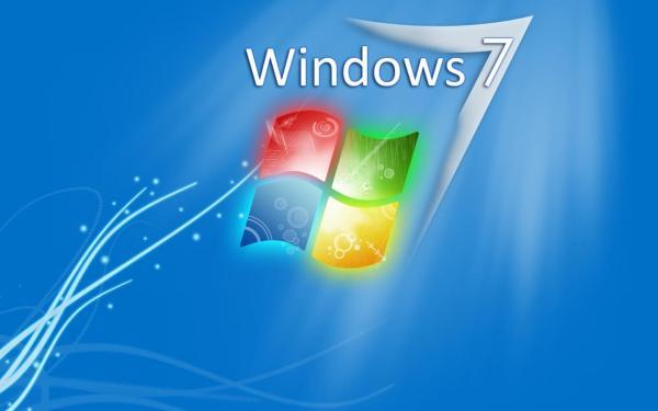 Фирменная заставка Windows 7 обои для рабочего стола ...
