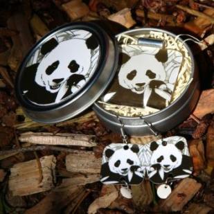 Image of GOT BAMBOO panda set..primo!