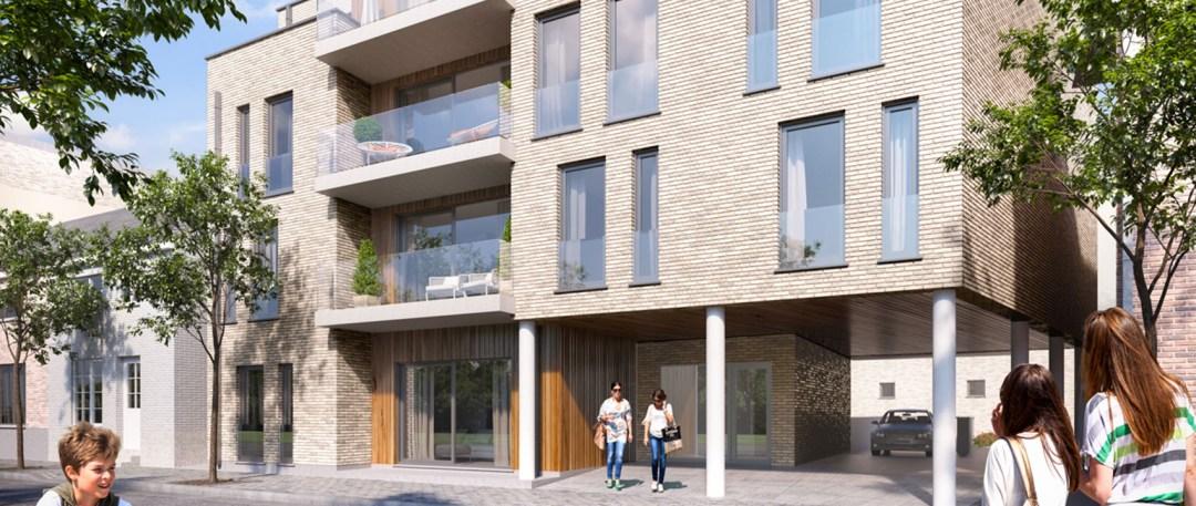 Appartementen projectontwikkeling Kerkzicht Heppen