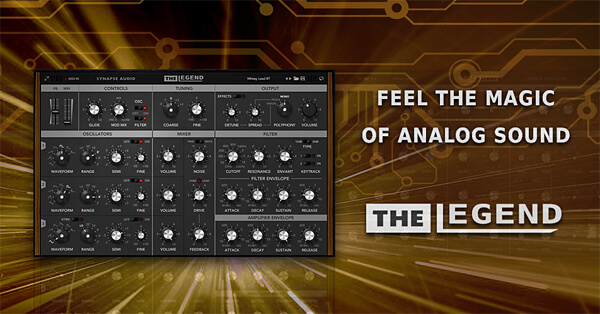 Synapse Audio The Legend Crack v1.3.1 Win & Mac Latest  Download