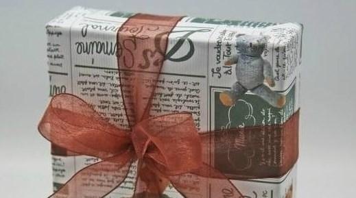 упаковать книгу для подарка
