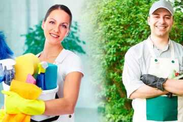 Работа для семейной пары в загородном доме