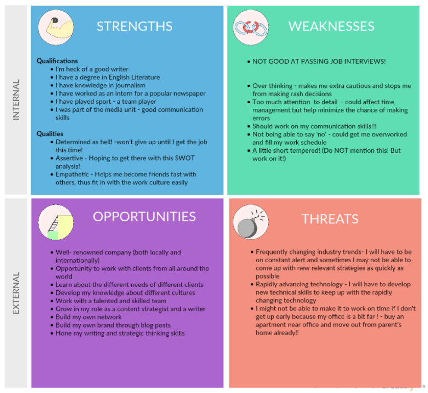 good personal strengths for resume