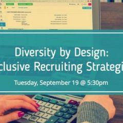 #NextGenTA Diversity by Design: Event Preview