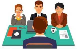 Собеседования с разными представителями компании