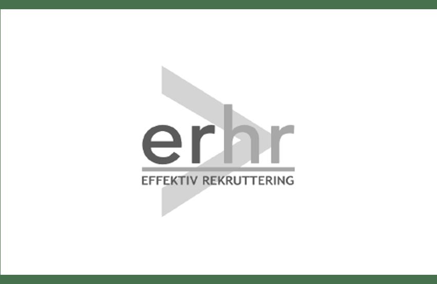 Logo af erhr rekuttering