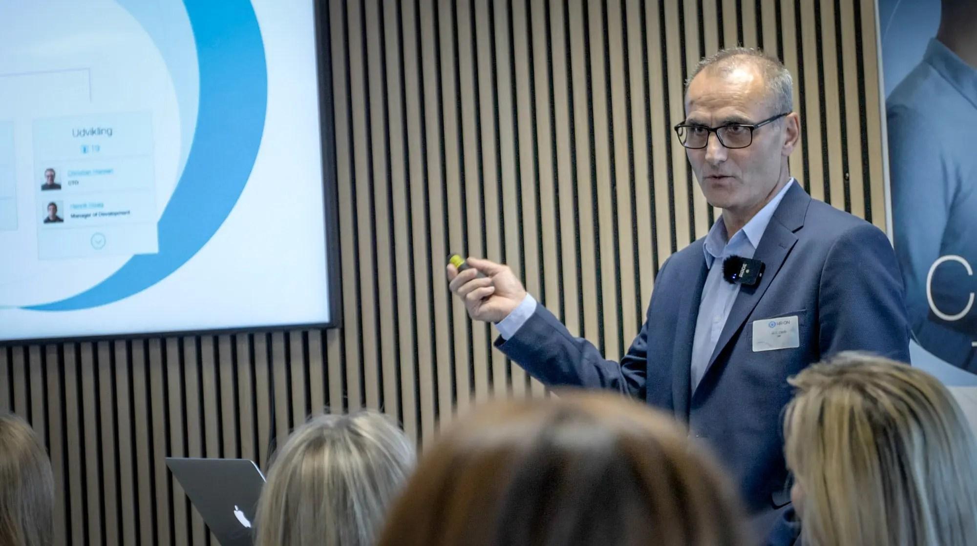 Ali Cevik til HR-ONs LinkedIN seminar