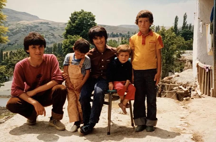 Ali Cevik som barn