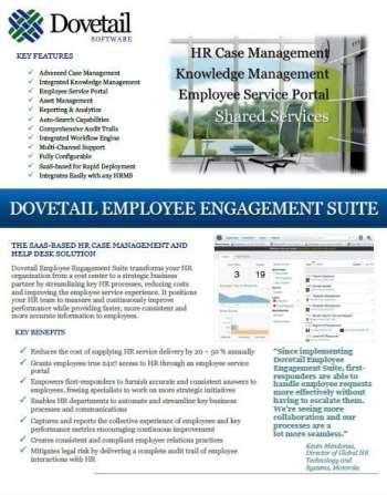 Dovetail Data Sheet