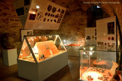 Archaeological exhibition in the Historical Museum in Sanok