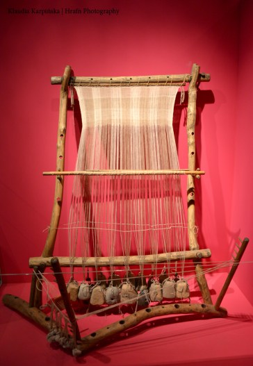 The Reconstruction of a Vertical Loom