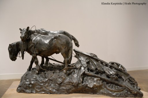 'On the Way (Pair of Horses)' by Jan Bolesław Góralczyk